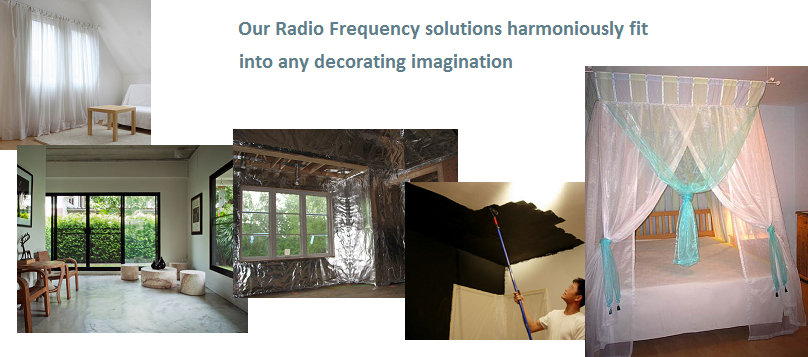 Radio frequency radiation solutions